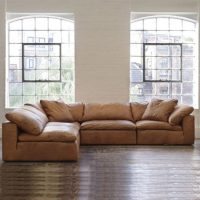 Tan leather sofas for every living space styles in 2018 ...