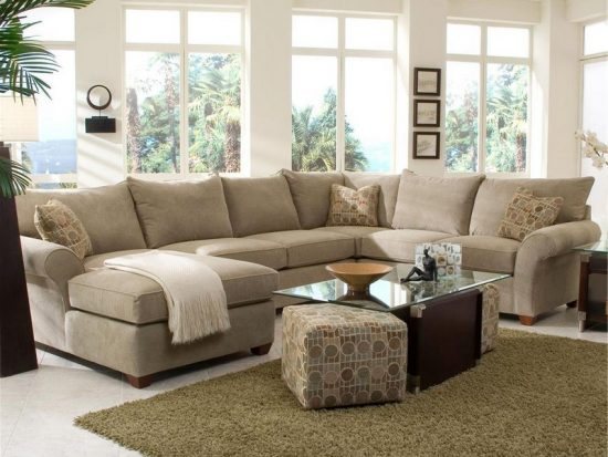 orange fabric sectional sofa spring repair london useful tips to get the perfect for your ...