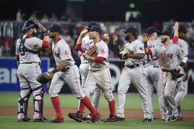 , Red Sox On The Rise