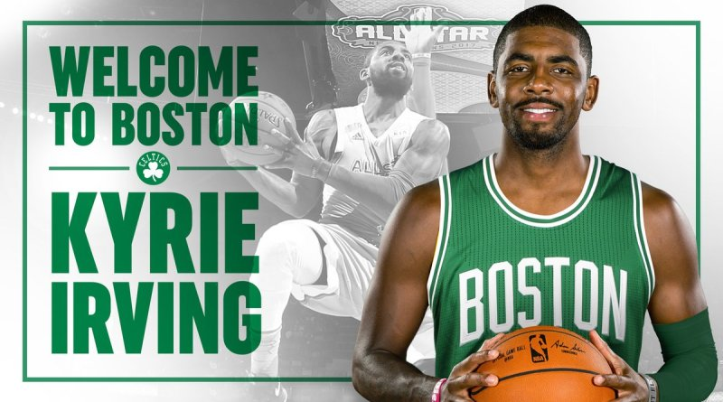 , Kyrie Irving is Finally a Celtic