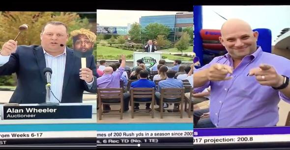 , ESPN Comes In Hot With A Bad Look Last Night With A Fantasy Auction Sketch