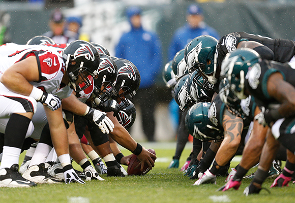 Falcons Eagles Football