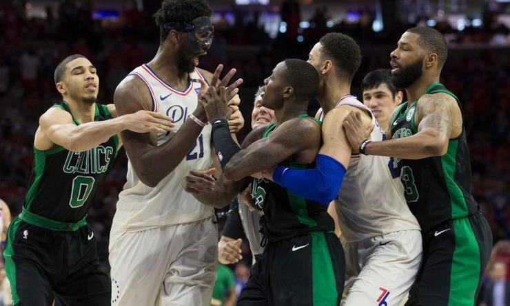 Celtics Playoffs, The Celtics were up 3-0 and Still Let the 76ers get Inside their Heads