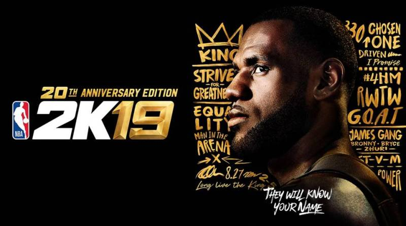 , Lebron is the NBA 2K19 Cover Athlete; Confirming he's Leaving Cleveland