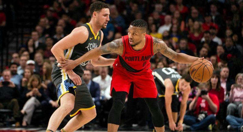NBA: Golden State Warriors at Portland Trail Blazers