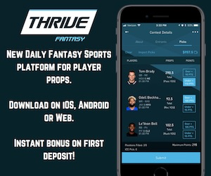 BETTING PROP FANTASY SPORTS NHL NFL MLB NBA ANDROID IPHONE