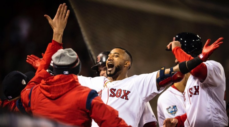 World Series, Red Sox Outlast Dodgers, Go Up in World Series 1-0