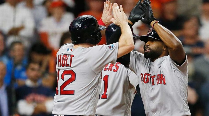 Red Sox, Eovaldi, Bradley Jr. Power Red Sox to Game 3 Win