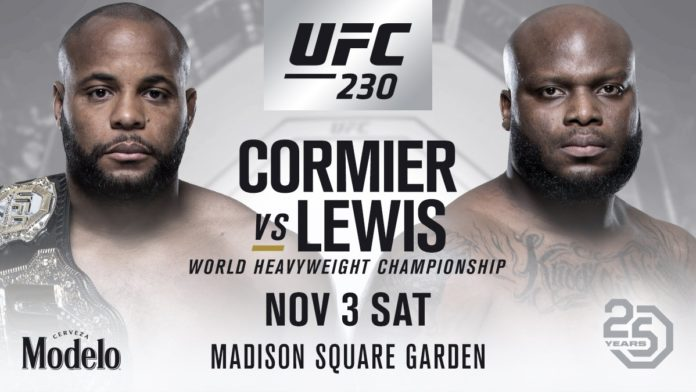 UFC 230, UFC 230 Madison Square Garden Preview and Predictions