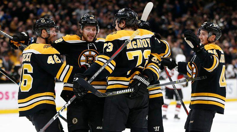 Boston Bruins, Bruins Starting To Roll