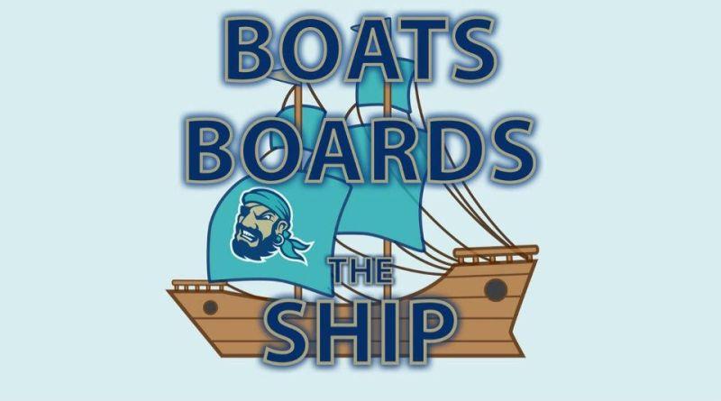 """Boats Boards The Ship, """"Boats Boards The Ship"""" Has Docked…"""