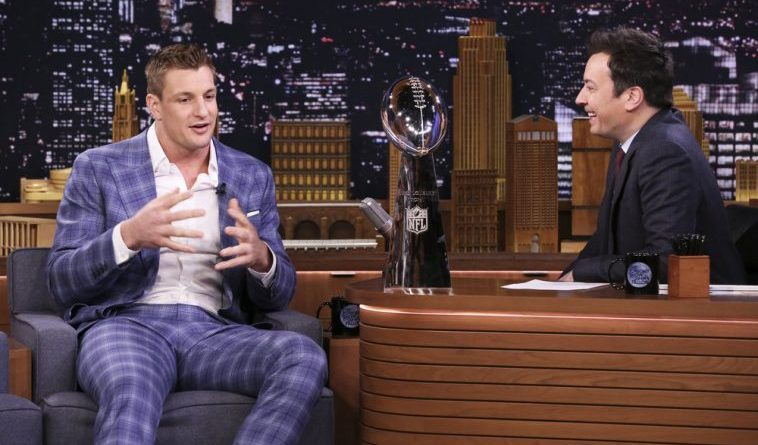 Gronk, Did Gronk Low Key Confirm Returning For Another Season on Jimmy Fallon?