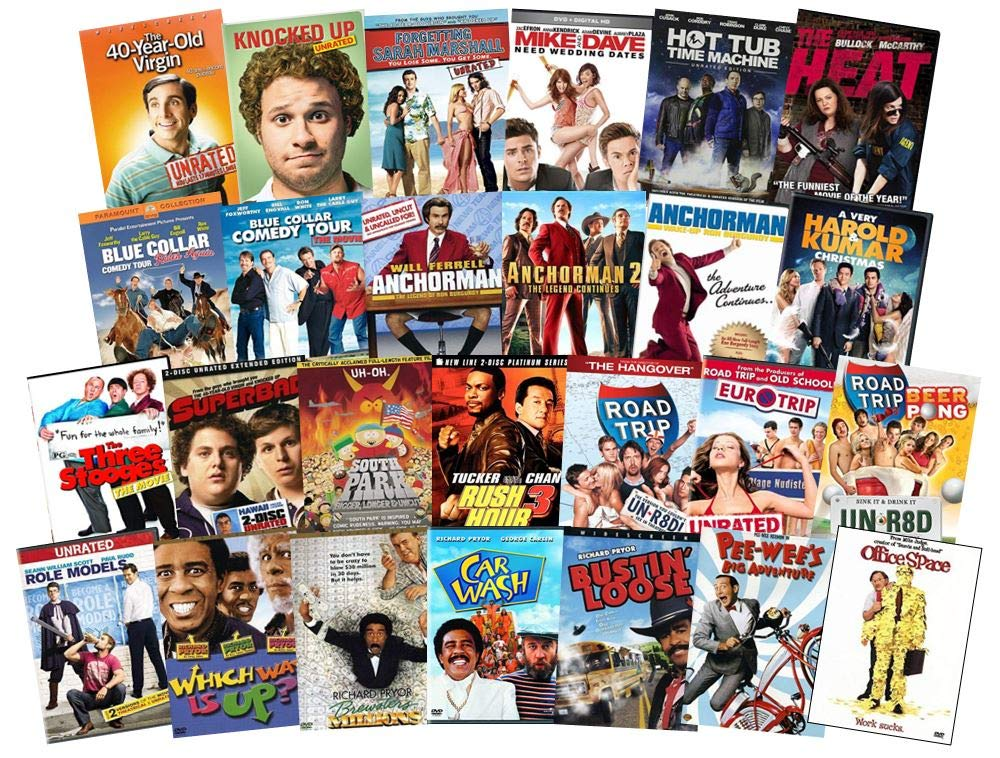 Pick Three Comedy Movies Edition