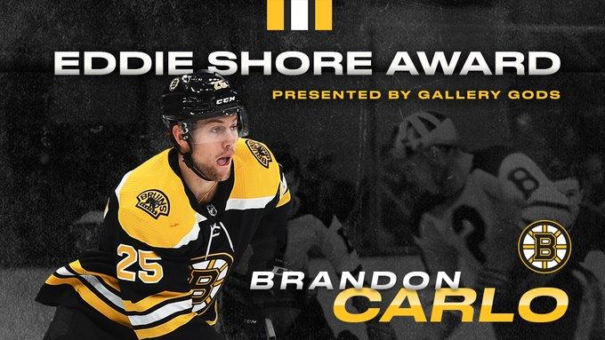 carlo eddie shore award