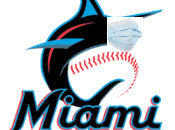 Marlins Logo with Mask