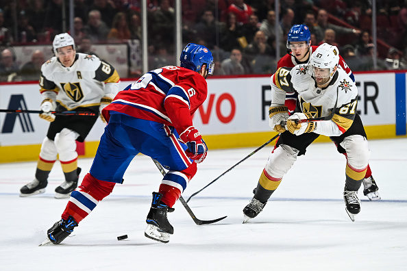 The Vegas Golden Knights face off against The Montreal Canadians