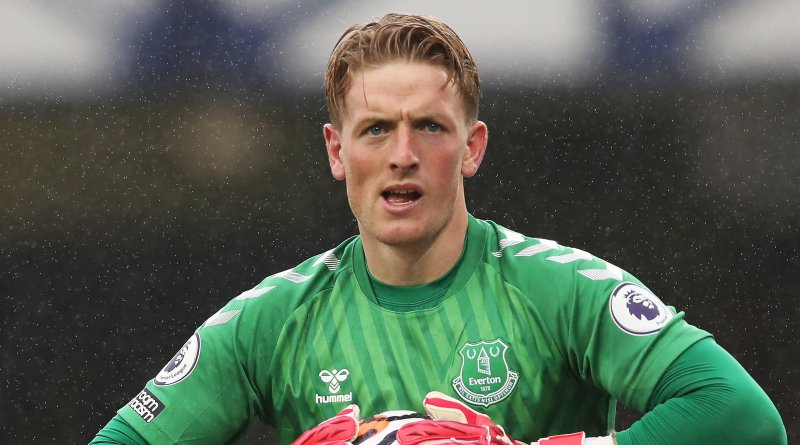 Goalkeeper Jordan Pickford could supply Everton with a much needed boost if he is healthy enough to play on Saturday