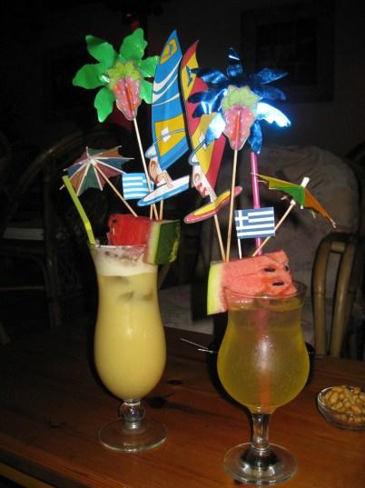 Some over-dressed cocktails