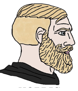 Bearded Nordic Chad
