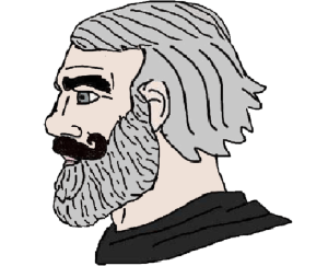Grey Haired Chad