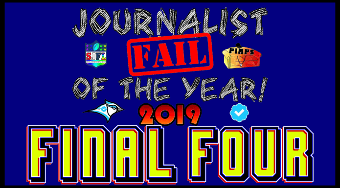 2019 Journalist FAIL of the YEAR: CHAMPION