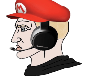 Nordic With Mario Hat Chad