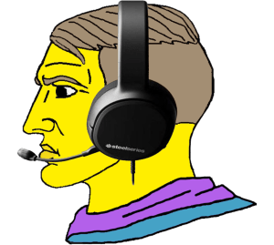 Yellow Gamer With Headset