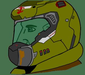 Helmeted Chad