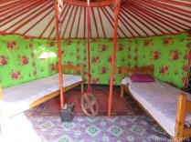 Cute ger Mongolia Gobi Desert Tour