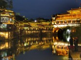 Fenghuang by night China