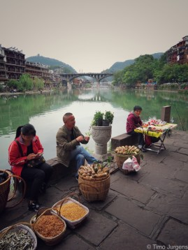 Street food Fenghuang China