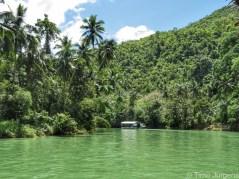 River view at Loboc River Cruise Bohol Philippines