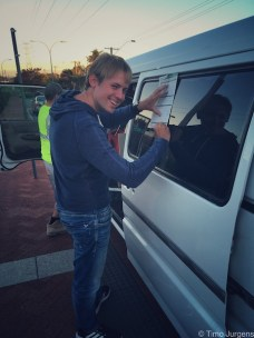 Perth - Signing for our own van