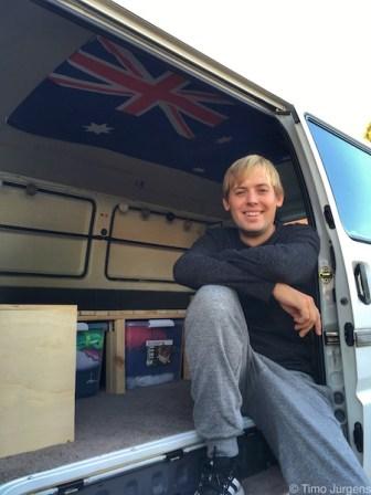 Perth - Timo and van