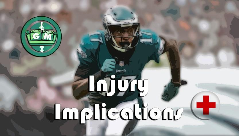 Fantasy Football Injury Implications