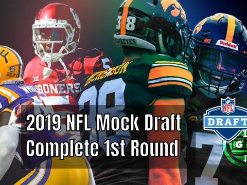 2019 Mock Draft
