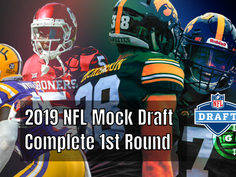 2019 Mock Draft