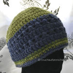 Crochet Criss Cross Hat Pattern