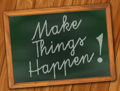 Make Things Happen - Running Motivation