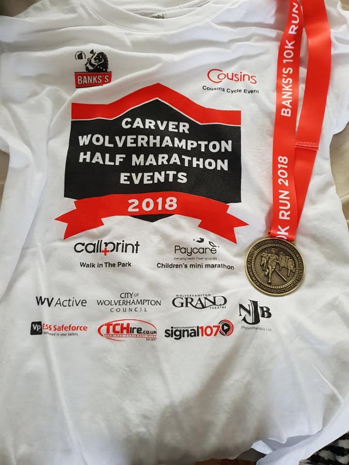 Wolverhampton 10k T-shirt