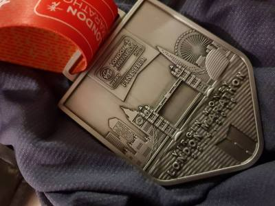 London Marathon Memento Medal