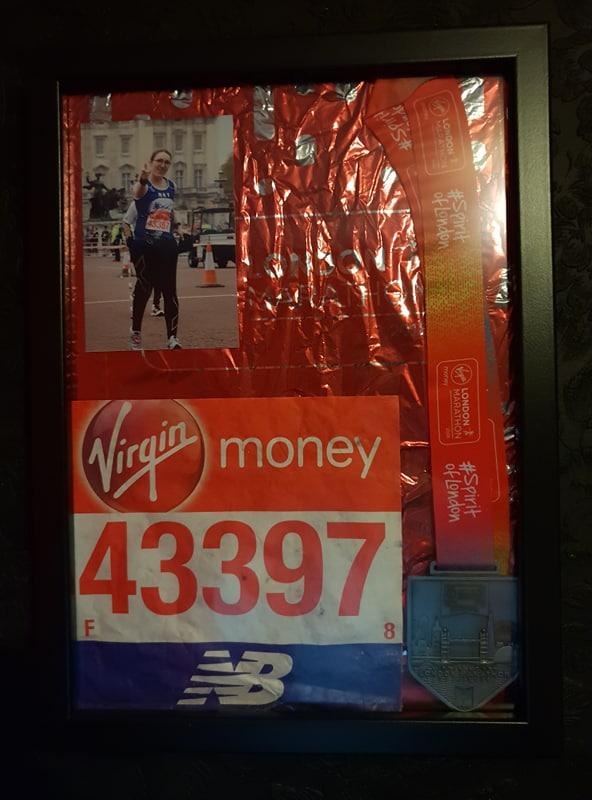 London Marathon Memento A3 Frame