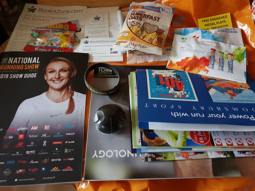 The National Running Show Goodies