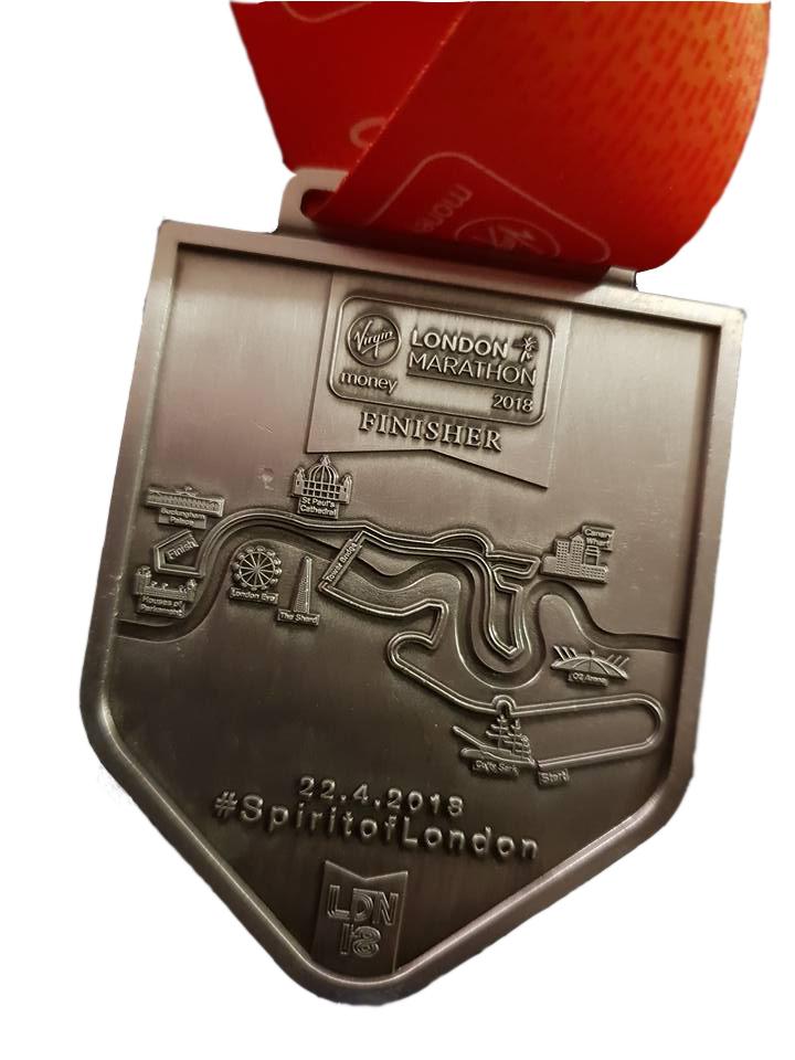 VLM Back Medal