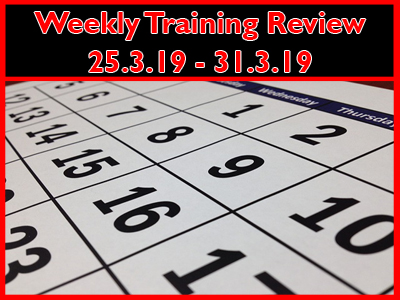 25th-31st March 2019