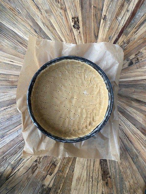 Cheesecake-crust-Käsekuchenteig