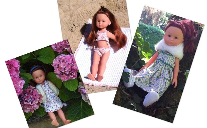 """Cet été, un peu de couture avec la poupée """"Les Chéries"""" de Corolle pour Marie Claire Idées"""