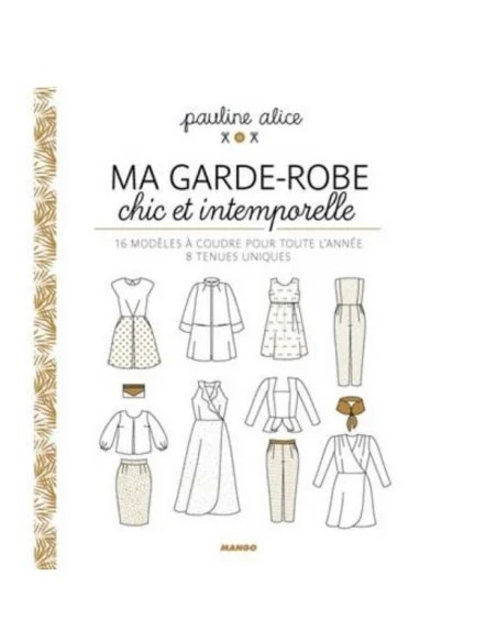 Ma Garde Robe Chic Et Intemporelle : garde, intemporelle, Mercerie, Livres, Couture, Broderie, GARDE-ROBE, INTEMPOREL...
