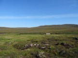 First view of Strathchailleach bothy.