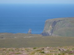 Looking at Stac Clò Kearvaig from Cnoc a' Ghiubhais . . . quite a long way to go!